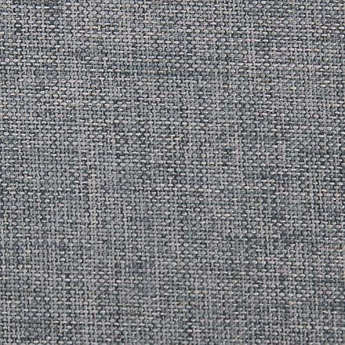 Deconovo Decorative Spillproof Oblong Linen Look Grey Tablecloth 54x72 Inch