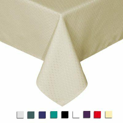 elegant waffle polyester table cover