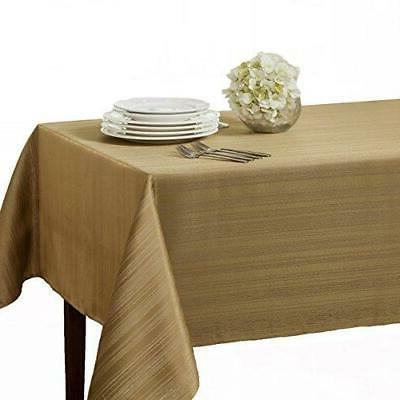 flow heavy fabric tablecloth