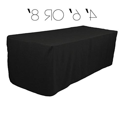 ft rectangular fitted polyester cloth
