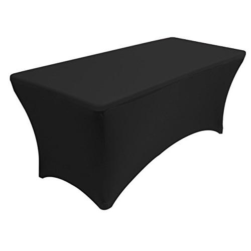 ft spandex fitted stretch tablecloth