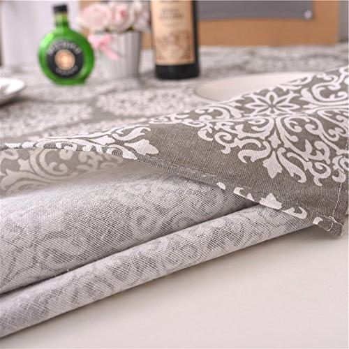 ColorBird Cotton Linen Cover Kitchen Dinning Tabletop