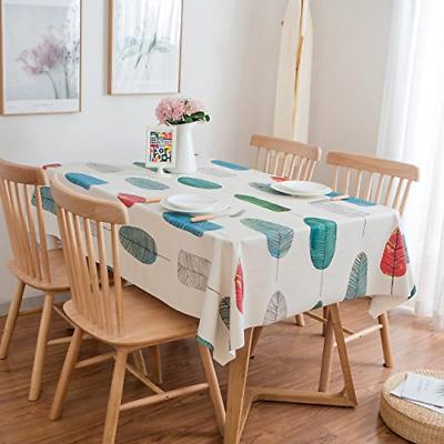 heavy weight vinyl rectangle table cover wipe