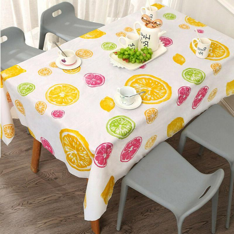 Home Waterproof Oil Proof Table Dining