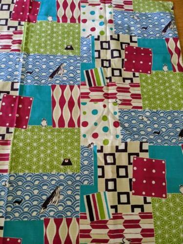 Japanese Cloth Fabric Cotton 99cm NEW