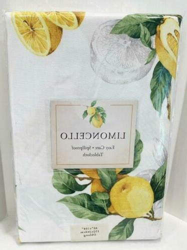 limoncello indoor spillproof tablecloth