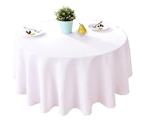 linen round tablecloth waterproof stain