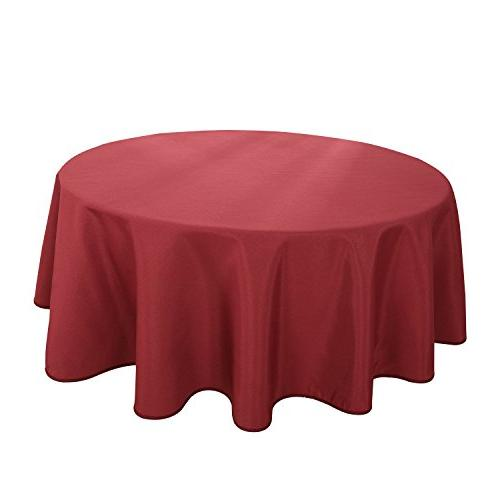 linen round tablecloth waterproof wine