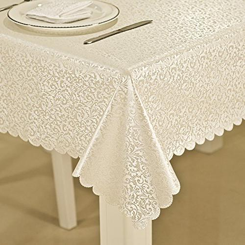 luxury scroll damask spillproof oilproof