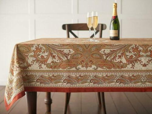 Paisley Tablecloth 60 - by 90