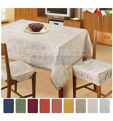 mexico tablecloth jacquard square 70 7 8x70