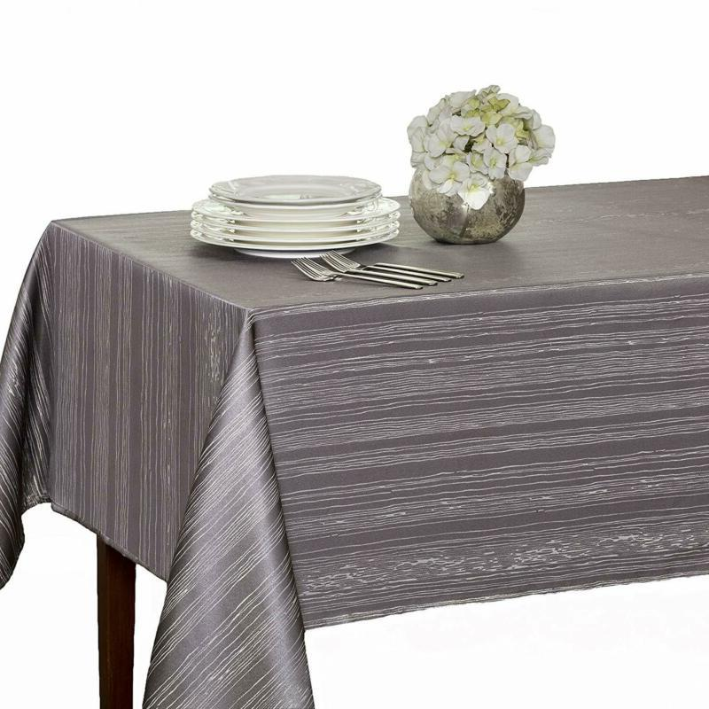 Mills Tablecloth Flow Heavy Weight Spillproof Fabric Color G