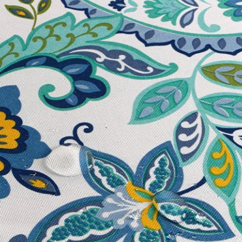 ColorBird Paisley Tablecloth Table Cover for Tabletop Decoration