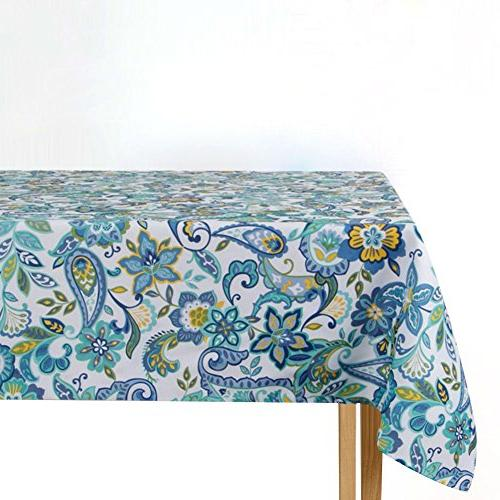 ColorBird Modern Paisley Tablecloth for Kitchen Decoration