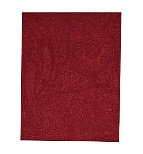 paisley suite red rectangular tablecloth