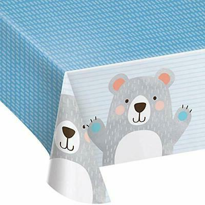 party supplies bear party plastic tablecloth tablecover