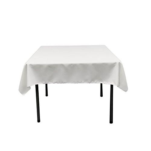 polyester poplin square tablecloth
