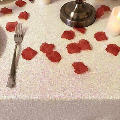 TRLYC by -Inch Sequin Tablecloth Wedding Banquet