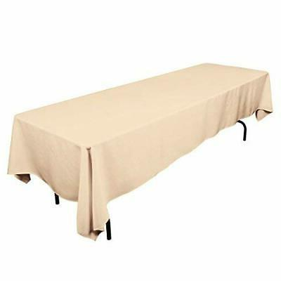 rectangle tablecloth beige rectangular table cloth