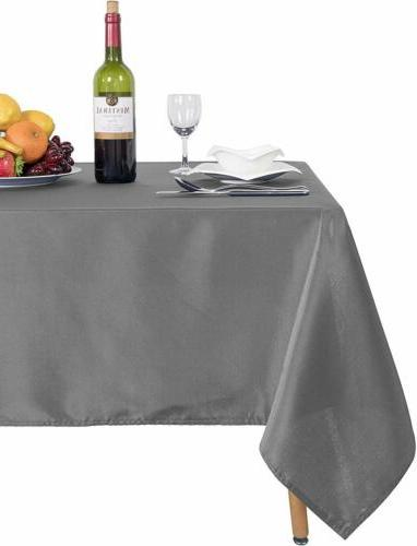 Rectangle Washable Resistance Microfiber Table Cover