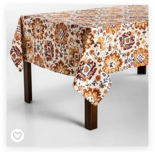 Rectangular Shape Tablecloth 8-10 60x104 In Washable