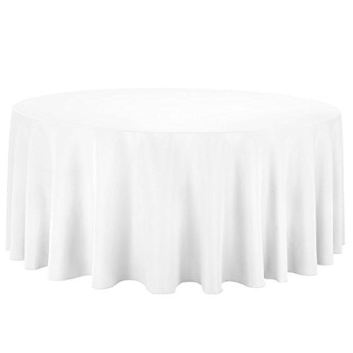 round economy polyester tablecloth
