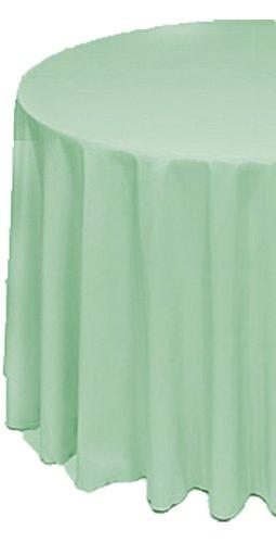 round polyester table cloth