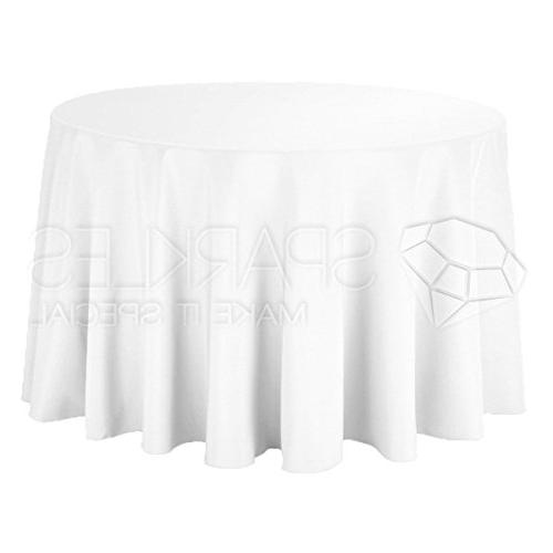 round polyester tablecloth cloth fabric