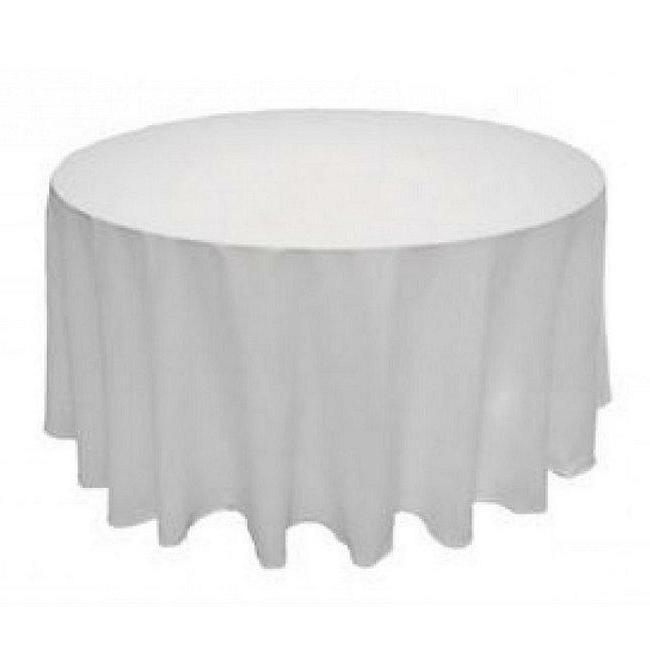 Round Seamless Tablecloth For Wedding Restaurant Banquet Par
