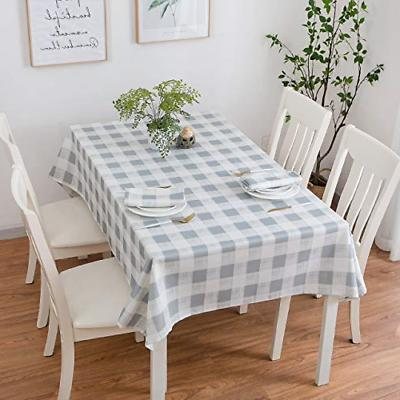 rustic waterproof polyester table cover fabric oblong