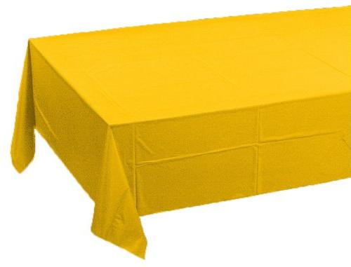 school tissue poly tablecover solid