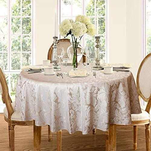 ColorBird Tablecloth Waterproof Fabric Table Cover for Kitchen Dinning