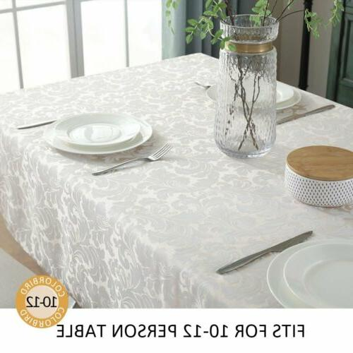 ColorBird Tablecloth Spillproof Fabric
