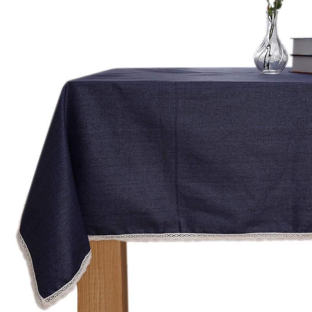 ColorBird Tablecloth Waterproof Blue X