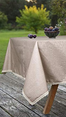 ColorBird Cotton Tablecloth Table Cover for Dinning Decoration