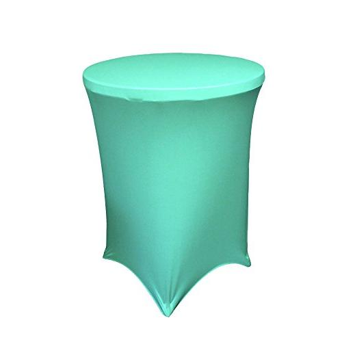spandex round tablecloth