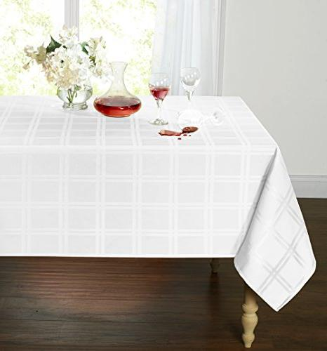 spill proof stain resistant plaid