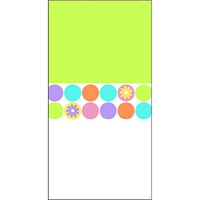 spring dots table cover 6 pack