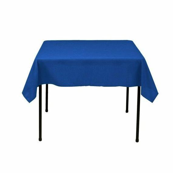 square tablecloth 60 x 60 inch royal