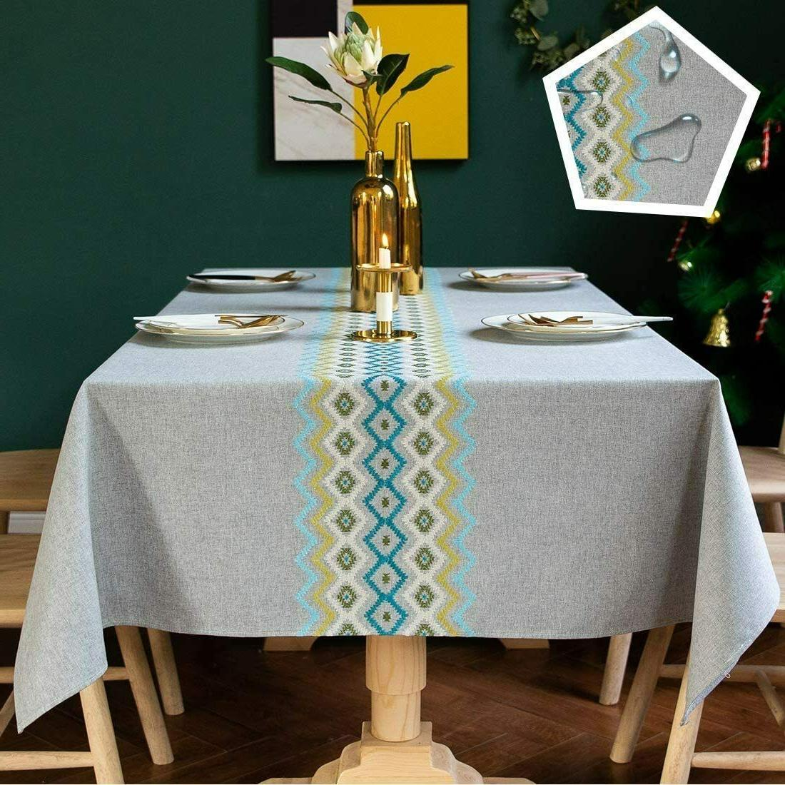 Stitching Linen Kitchen Dining Party