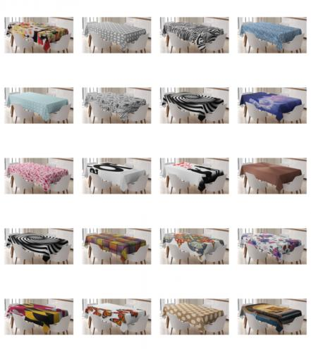 tablecloth by rectangular table cover for dining