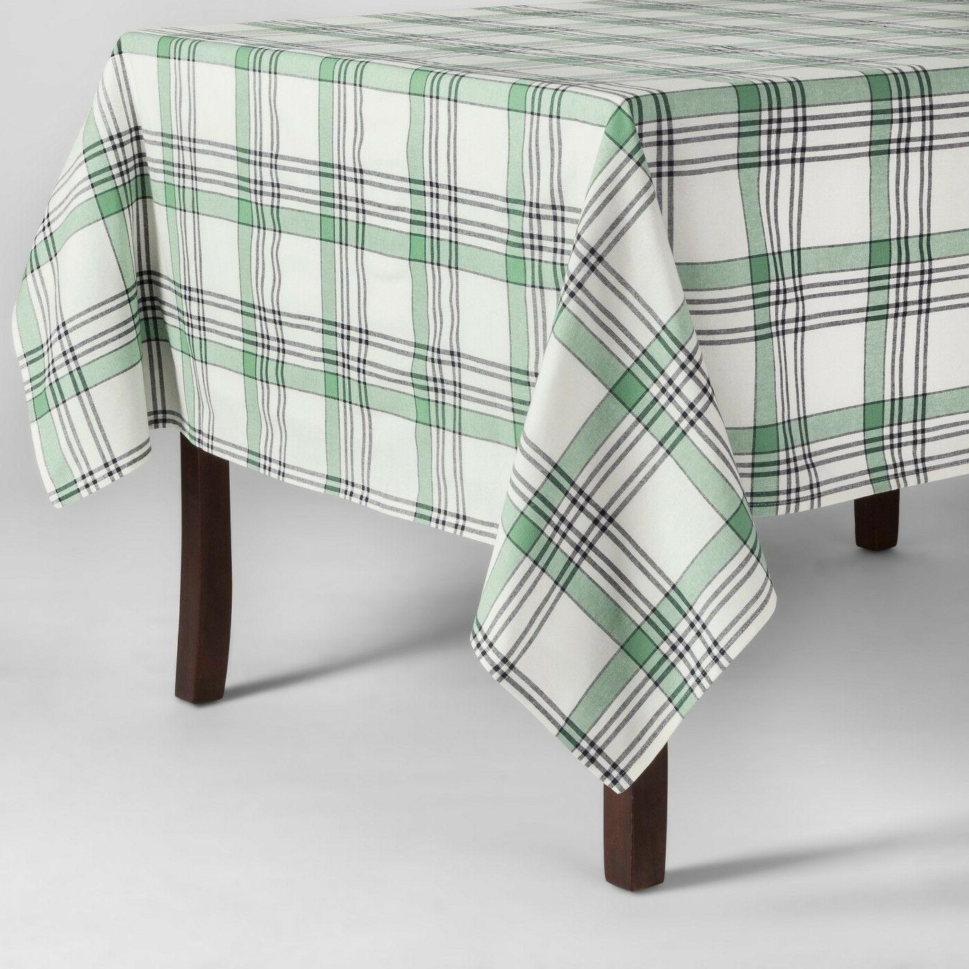 tablecloth green threshold