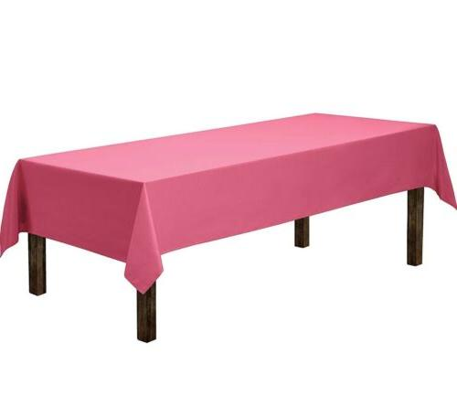 tablecloth rectangle 60 x 126 rectangular fuchsia