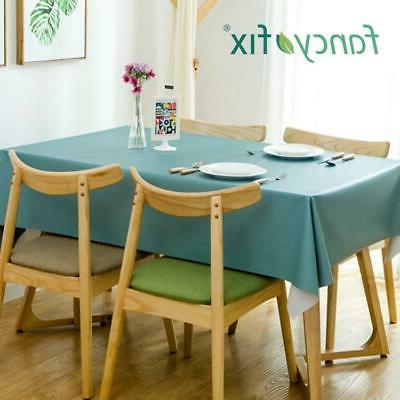 Tablecloth Wrinkle-Free Linen