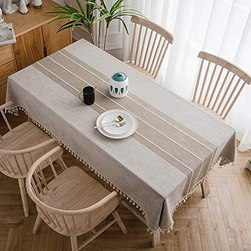 tablecloth wrinkle anti fading tablecloths