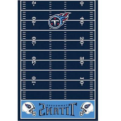 tennessee titans plastic table cover football birthday