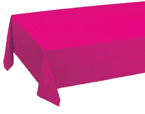 touch plastic lined table cover