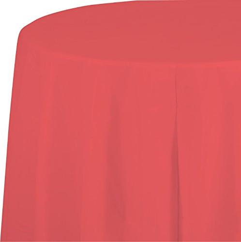 touch round paper table cover