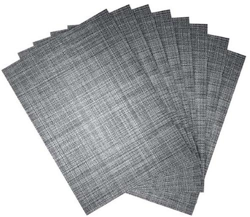 tweed woven placemats