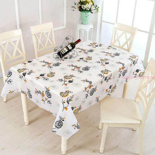 Waterproof Cloth Cover Home Dining Kitchen